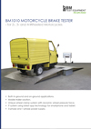 Frontpage of BM1010 English brochure
