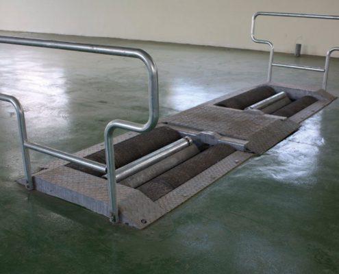 BM14200 roller brake tester