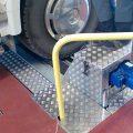 BM20200 roller brake tester in-ground