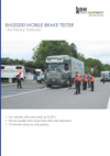 frontpage of BM20200 English brochure