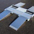 BM3010 mobile roller brake tester with suspension tester