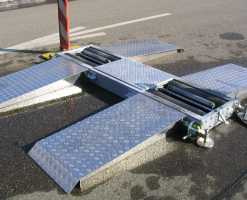 BM3010 mobile roller brake tester