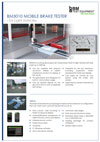 Frontpage of BM3010 English brochure