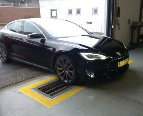 BM4010 Roller brake tester with Tesla