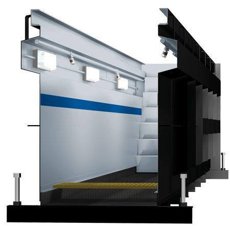 BM60 prefabricated inspection pit - 3D illustration