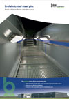 Frontpage of English inspection pit brochure