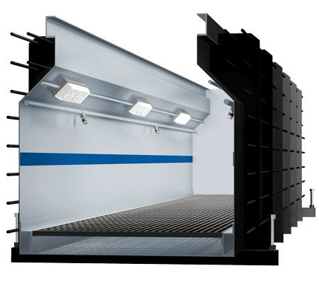 BM61 prefabricated inspection pit - 3D illustration