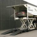 BM80000 mobile vehicle inspection lane