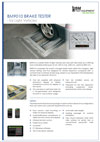 Frontpage of BM9010 English brochure