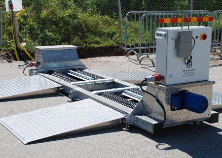 BM20200 mobile roller brake tester ID: 3271