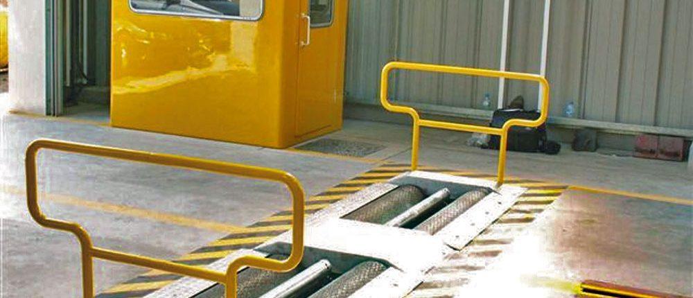 BM14200 roller brake tester at VOSA
