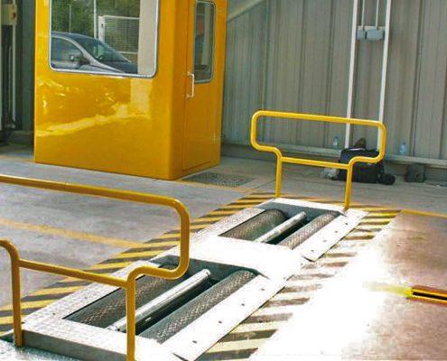 BM14200 bremseprøvestand hos VOSA
