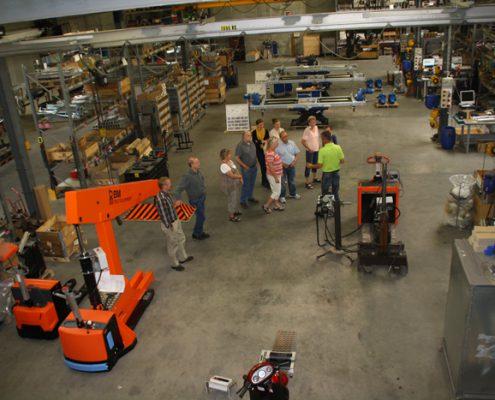 BM Autoteknik fejrer 35 års jubilæum med et åbent hus på fabrikken.