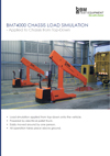 Frontpage of BM74000 brochure. Load simulation.