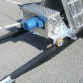 Aflæsning af bremseprøvestand fra container