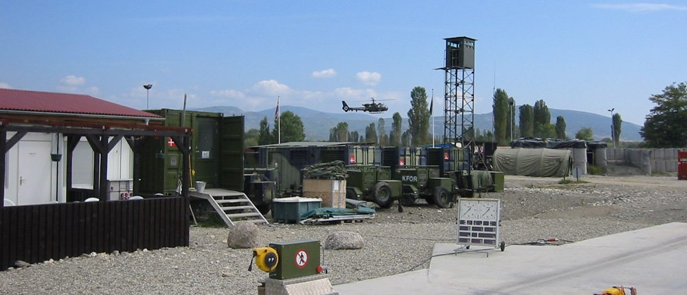 BM20200 mobile roller brake tester at military facility