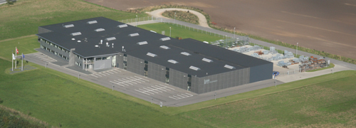 New factory in Denmark
