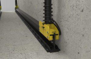 BM CLS chassis belastningssystem - 3D illustration