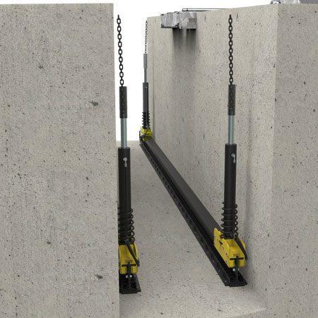BM CLS chassis load simulation - 3D illustration