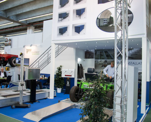 BM stand at Automechanika, Frankfurt 2016