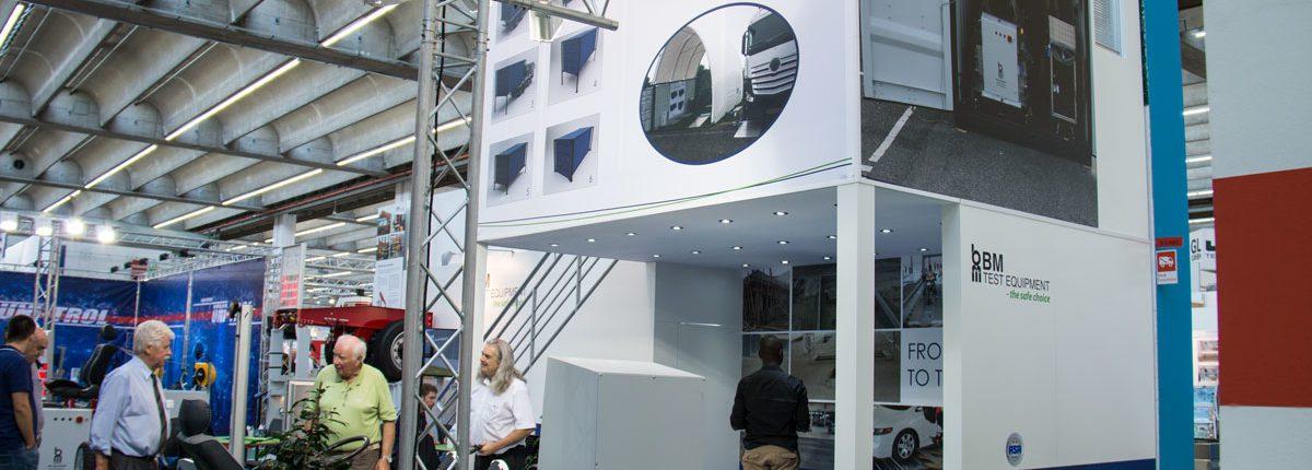 BM stand at Automechanika, Frankfurt 2016