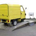 BM1010 roller brake tester with 3-wheeler