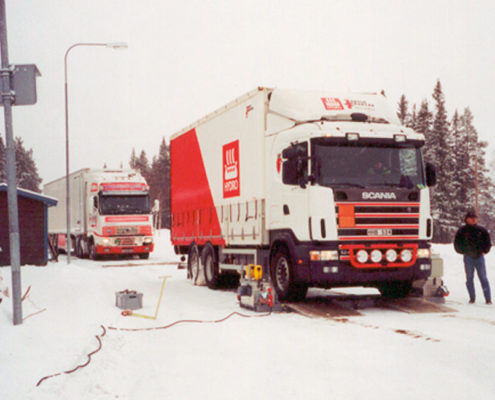 BM20200 mobile roller brake tester