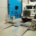BM20200 mobile roller brake tester and BM53000 wheel play detector