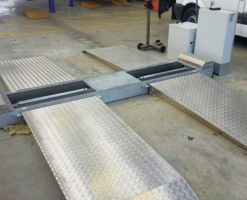 BM5010/BM5200 bremseprøvestand