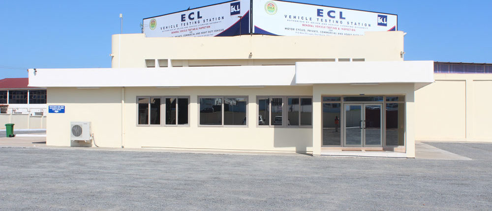 ECL Ghana multilane test facility