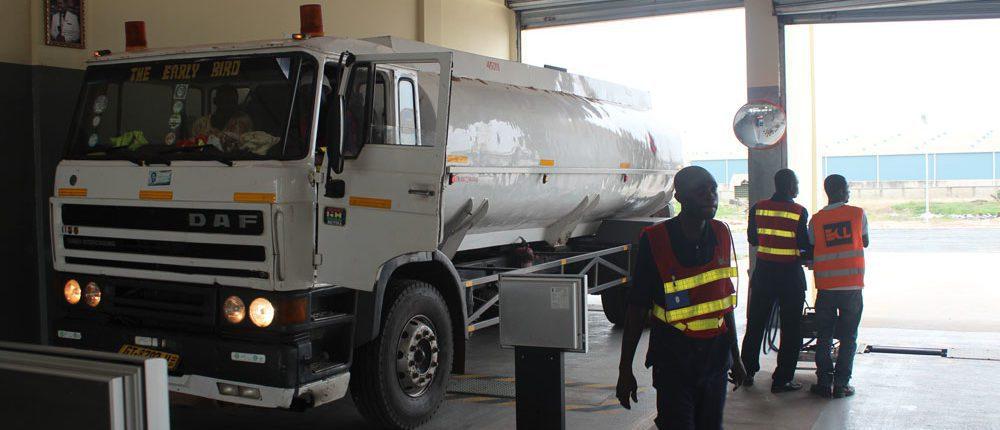 ECL Ghana Multilane facility. Heavy vehicles brake tester.