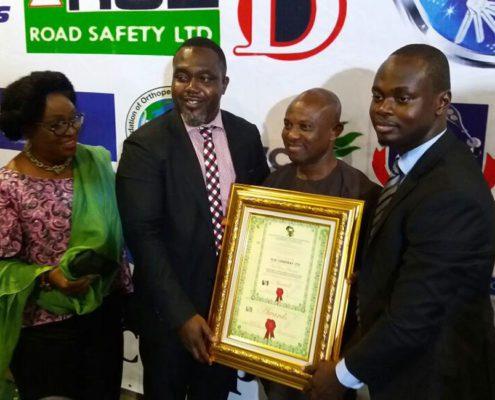 ECL Ghana winning award