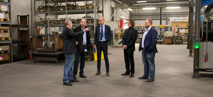 Visit by Mayor Torsten Nilsen and City Manager Lasse Jacobsen