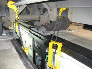 BM14200 roller brake tester with CLS load simulation