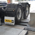 BM20200 mobile roller brake tester on-ground with truck