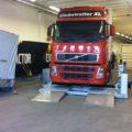 BM20200 mobile roller brake tester with truck