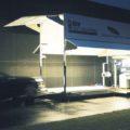 BM80000 mobile vehicle inspection lane at night