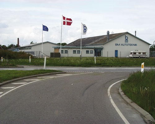 Establishes factory in Møldrup