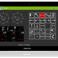 BM FlexCheck Android App - X010 remote control and display on tablet