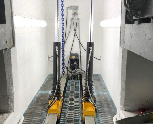 BM17200 roller brake tester with CLS type D