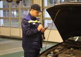 TUVLITA vehicle inspection, Lithuania. PDA with BM FlexCheck