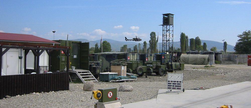 BM20200 mobile roller brake tester at military facility