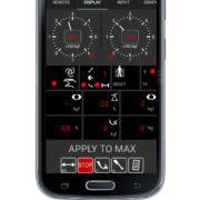 BM FlexCheck Android app - X010 display